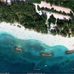 Récifs artificiels semblables à ceux de Peanut Island à West Palm Beach.