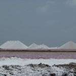 Usine de sel - Montagnes de sel