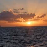 Coucher de soleil à la Martinique