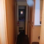 Corridor vers la chambre avant