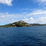 En route vers le Marigot Bay