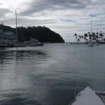 Marigot Bay vue de l'intérieur