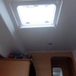 Trappe du plafond pour faire entrer l'air