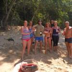 Dîner sur la plage de Bequia
