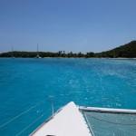 En route vers les Tobago Cays