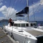 Ravitaillement à la Petite Martinique