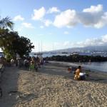 La baie de Trois Îlets