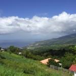 Vue de l'Observatoire de la Montagne Pelée