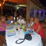 Dernier souper à Ste-Anne de la Martinique